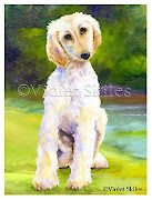 Dog Art by Violet Skiles