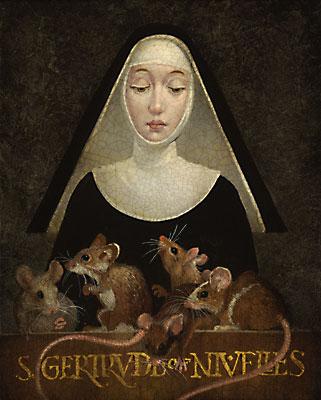 Santa Gertrude dans immagini sacre gertrude