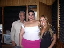 Con Víctor Sánchez y Sandra Villanueva en Planeta FM