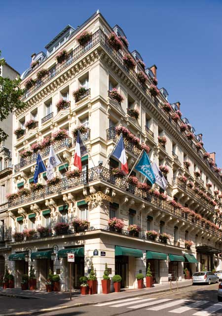 Star hotels hotel baltimore paris in france for Hotel baltimore paris
