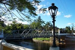 Vista ponte Rio nhundiaquara