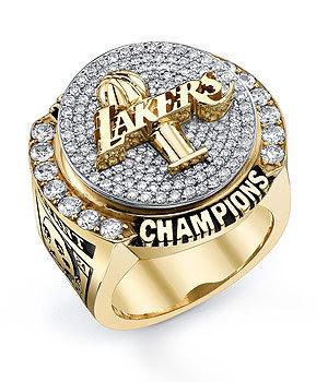 La Lakers Nba Championship Rings