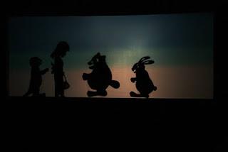 「ウサギとタヌキとカワウソ」