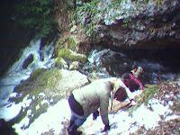 Пещерный водопад,Куржипский каньон, Мезмай
