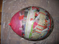 surprise maken papier mache