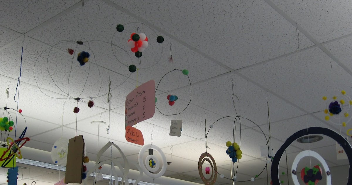 mr  williams 6th grade science blog  model of an atom project