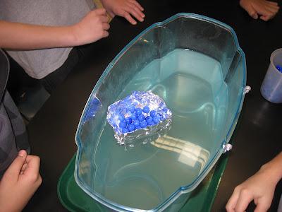 Aluminum Foil Boat Next, they made aluminum foil