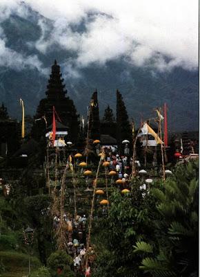 Besakih Hindu temple, Pura Besakih, Balinese Hindu temple