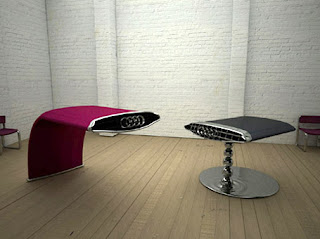 FURNITURE: Tables By Lee J Rowland :