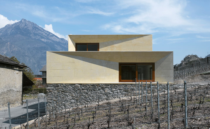 A212 house family home charrat valais switzerland by for K architecture geneve