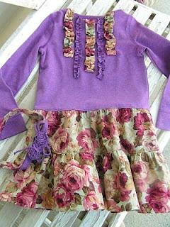 tshirtten-elbise