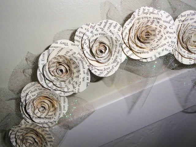 How to make paper flowers out of book pages gallery flower paper flowers made from book pages choice image flower decoration how to make paper flowers out mightylinksfo