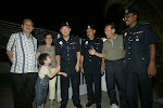 House- to- House visit by friendly police officers at night