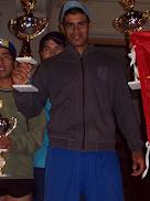 Fabián Villareal en la Maratón de los Barrios