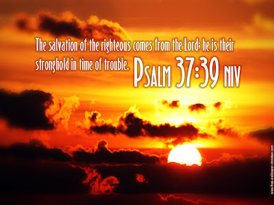 Christian Wallpapers Free Psalm 37:39