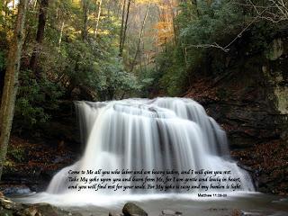 Bible Verse from Matthew 11:28-30