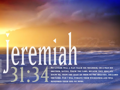 Wallpaper Jeremiah 31:34