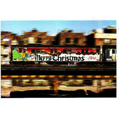 Merry Christmas Graffiti