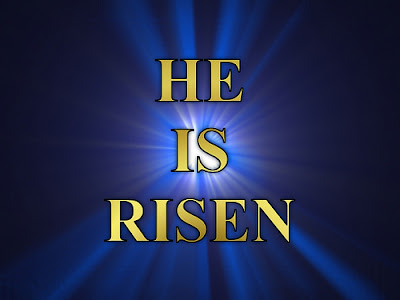 He is Risen Desktop Background