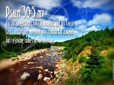 Psalm 30:5 Bible Verse