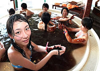 valentines day chocolate bath in japan