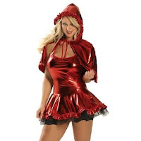 red Valentine's Day Costume for women
