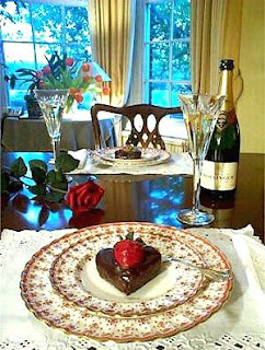 Valentine's Day Dining Decoration