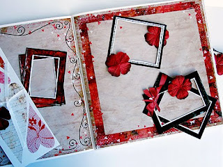 Handmade Valentines Day Scrapbook