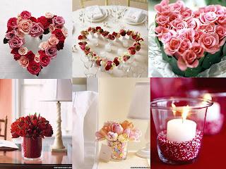 Valentine's Day Centerpieces