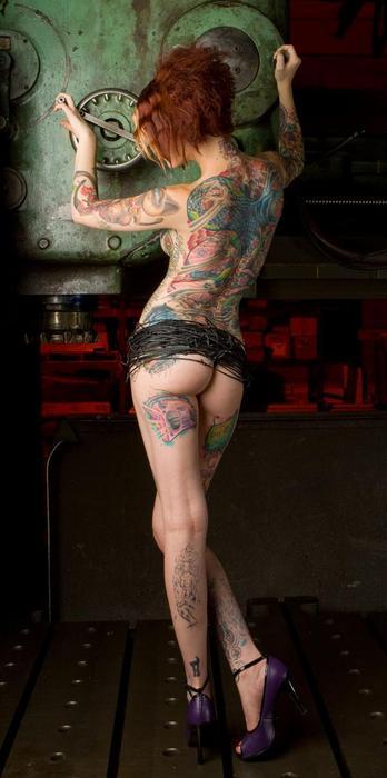 Oriental Japanase Modern Tattoo