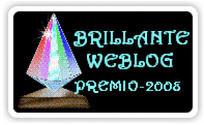 "Premio ""Brillante Weblog"""