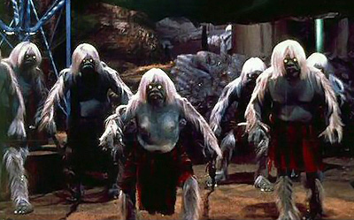 relationship between eloi and morlocks in While at first he makes it clear that he's not to be trifled with, but after that the uber-morlock treats alex civilly, prevents the other morlocks from harming him, points out that the current predator/prey relationship between the morlocks and the eloi is simply the result of evolution, explains to him why he can't use the time machine to.