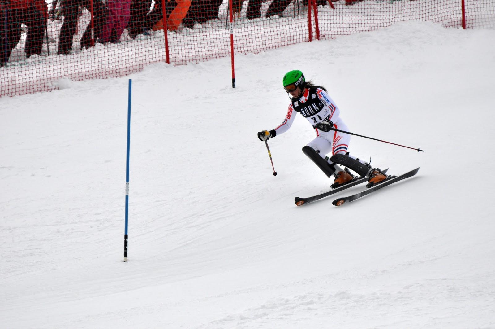 Michaela kirchgasser image 300 - Coupe du monde de ski courchevel ...