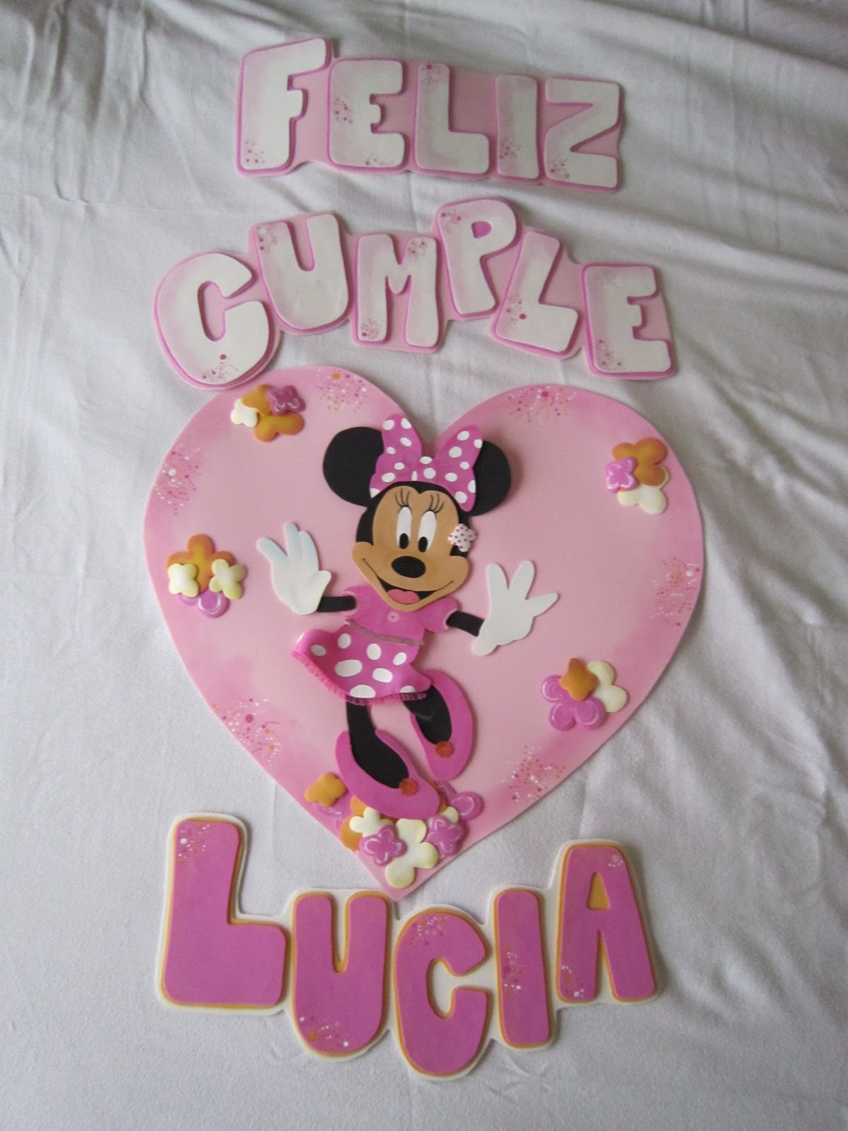VER CARTEL DE FELIZ CUMPLE DE MINNIE - Imagui