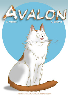 Avalon in his own cartoon series