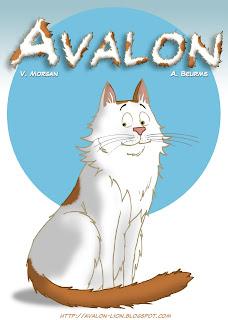 Avalon in his own cartoon series