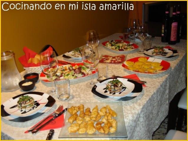 Especial raciones cena para 5 con invitados - Cena para invitados facil ...