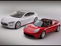 tesla motors voiture electrique sportive