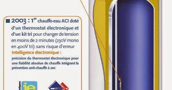 Atlantic « DIAPASON » : Un Chauffe Eau électrique Intelligent | ELYOTHERM