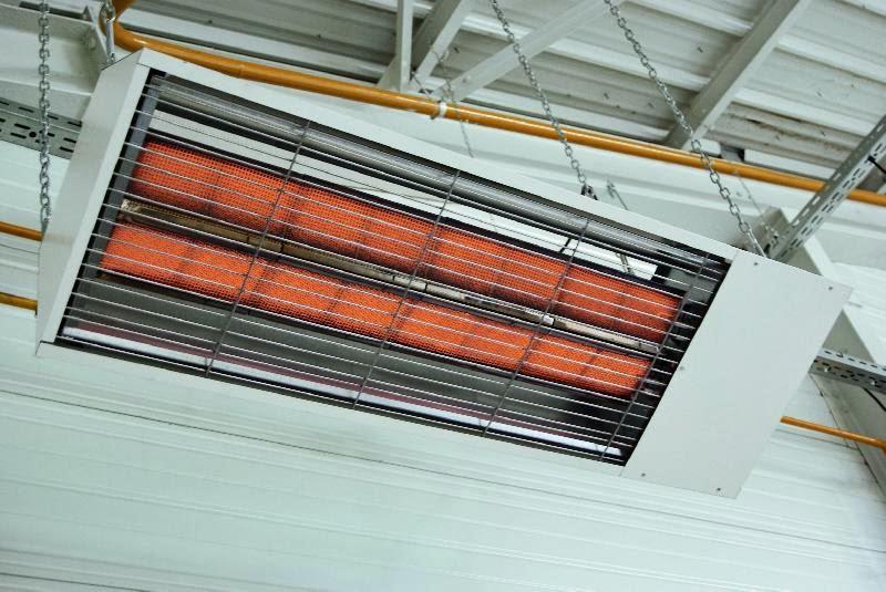 Syst mes de chauffage au gaz pour les locaux tertiaires elyotherm - Chauffage electrique au plafond ...