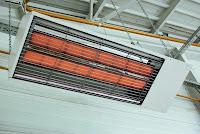panneau radiant gaz chauffage tertiaire