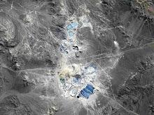 Fotos de Inmensos Crateres en Minas a Cielo Abierto vistos desde el espacio