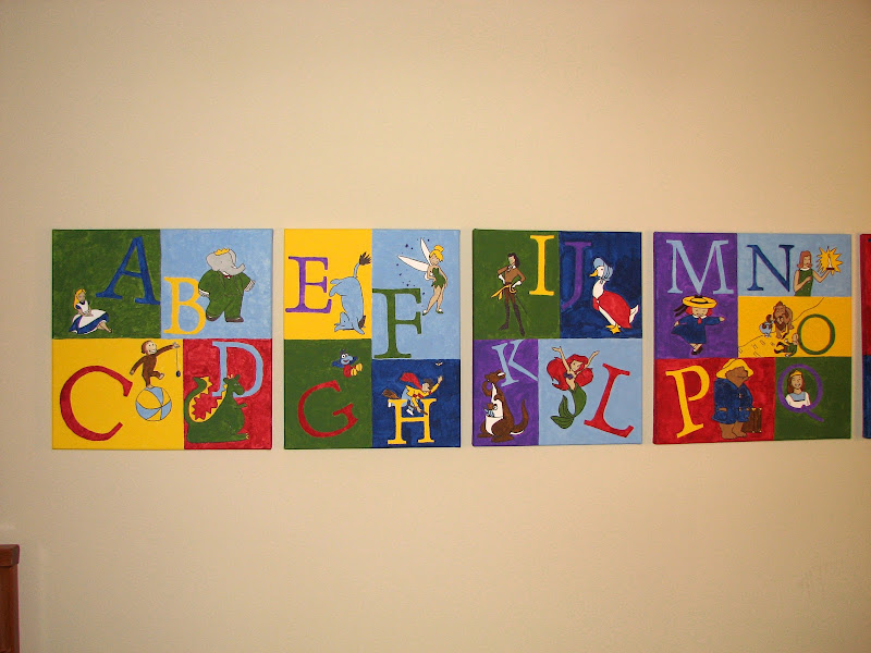 DIY Nursery Art: Serenity's Storybook Nursery title=