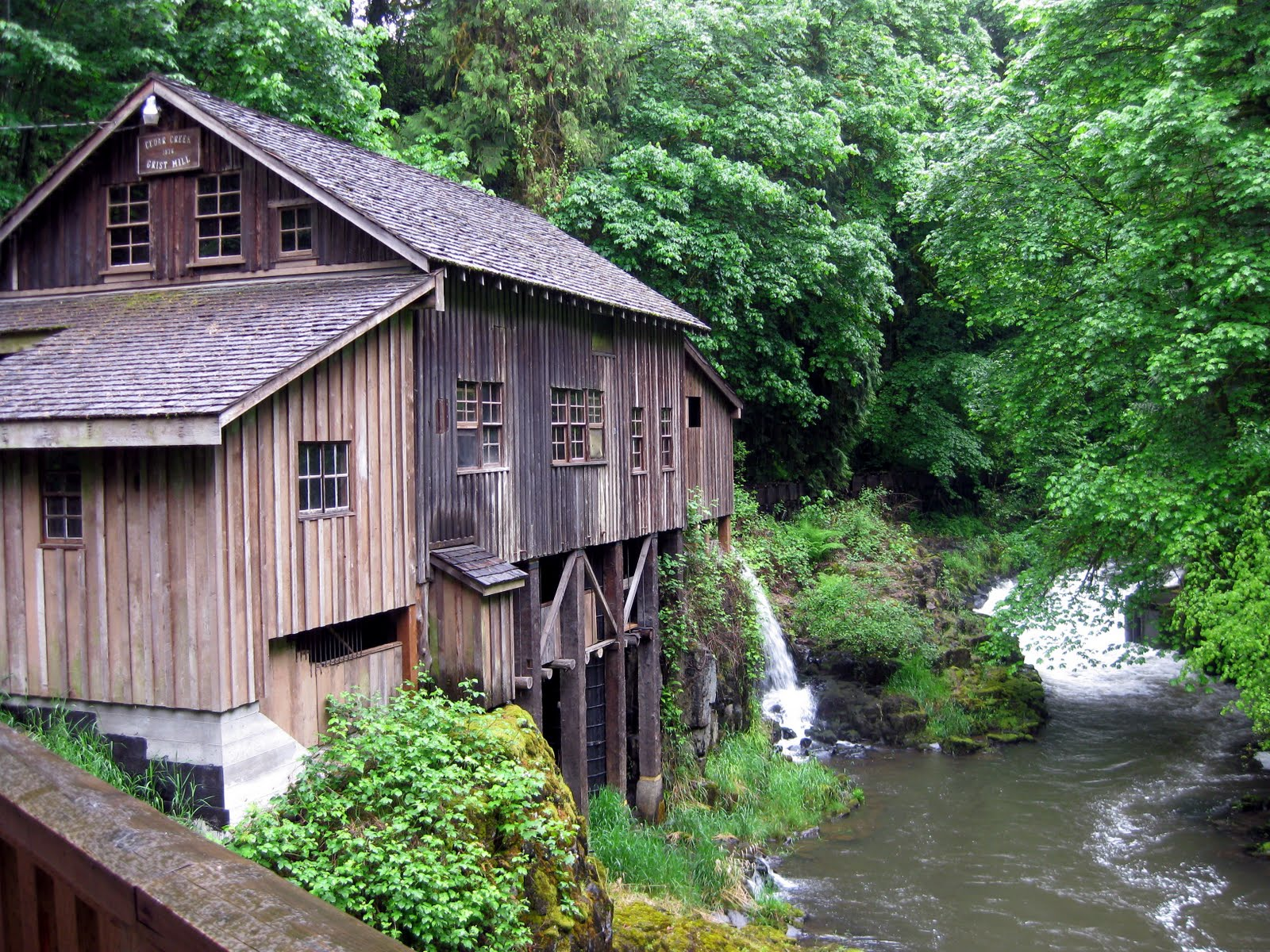 Where are the dixons today cedar creek grist mill for The cedar mill