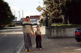 Ja i moj sin2002 na istom mjestu al nakon 22 godine