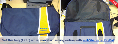 Get an Authentic PayPal Crumpler-Style Bag for Free!