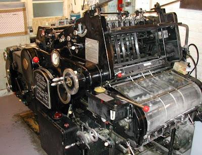 printing press machine