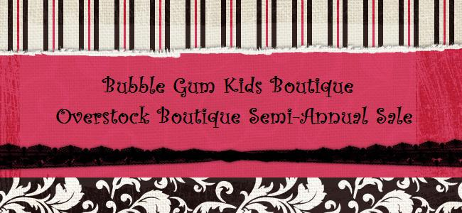 BUBBLE GUM KIDS SALE