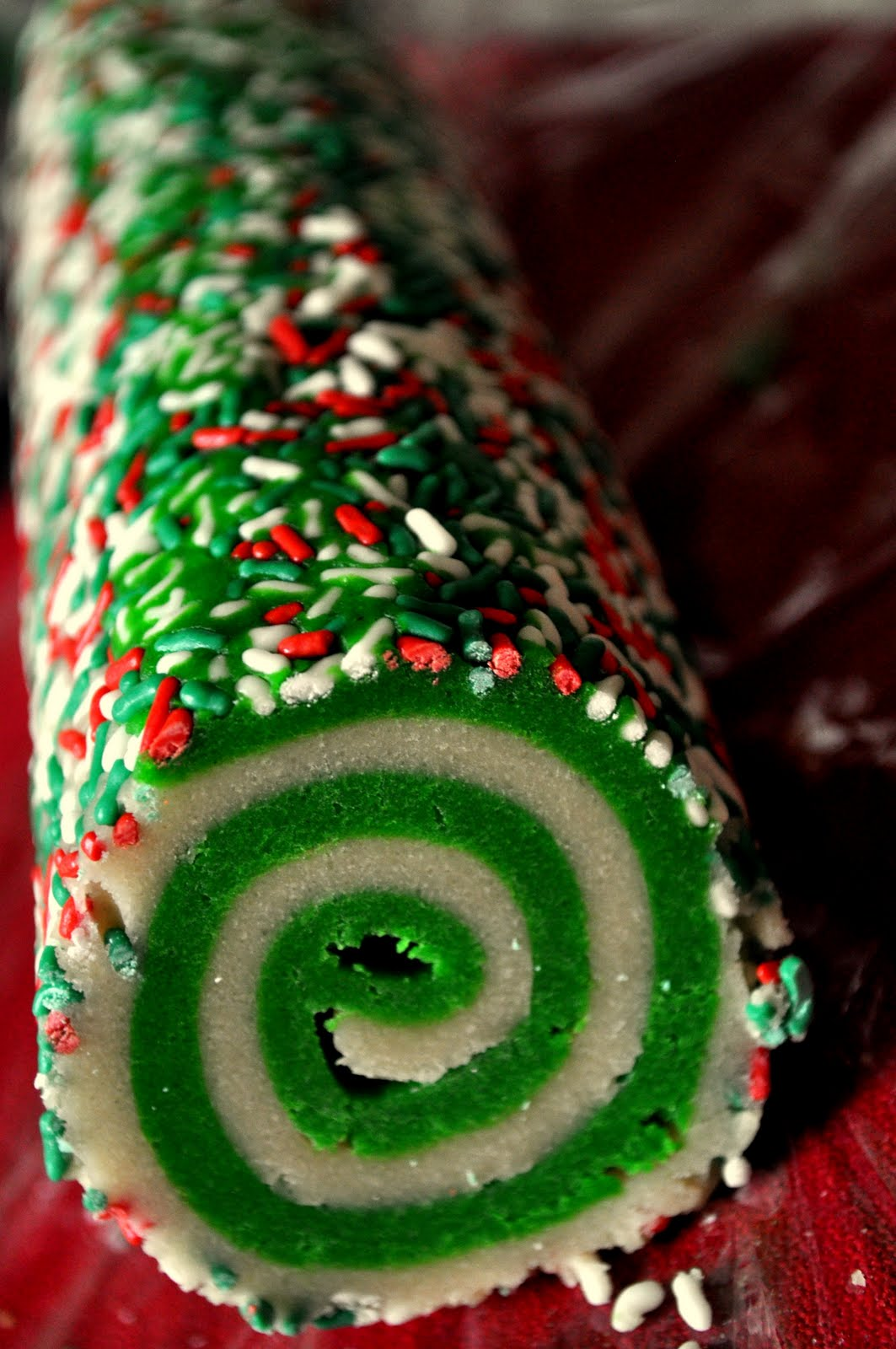 Our Italian Kitchen Colorful Swirl Cookies