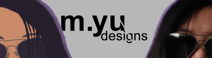 m.yu designs by Melissa Yu